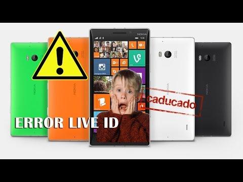 Microsoft y sus teléfonos DESECHABLES - Error Windows Live ID!