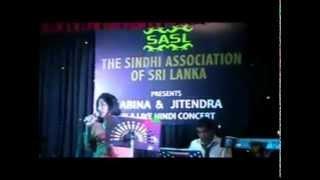 Ajeeb Dastan Hai Yeh  -  Jitendra & Sabina  In A Live Hindi Concert