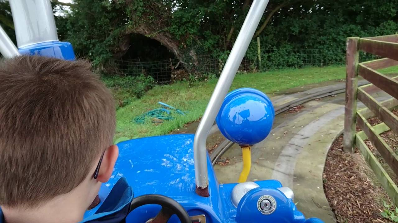Dexter S Tractor Ride Pov At Animal Farm Adventure Park Brean