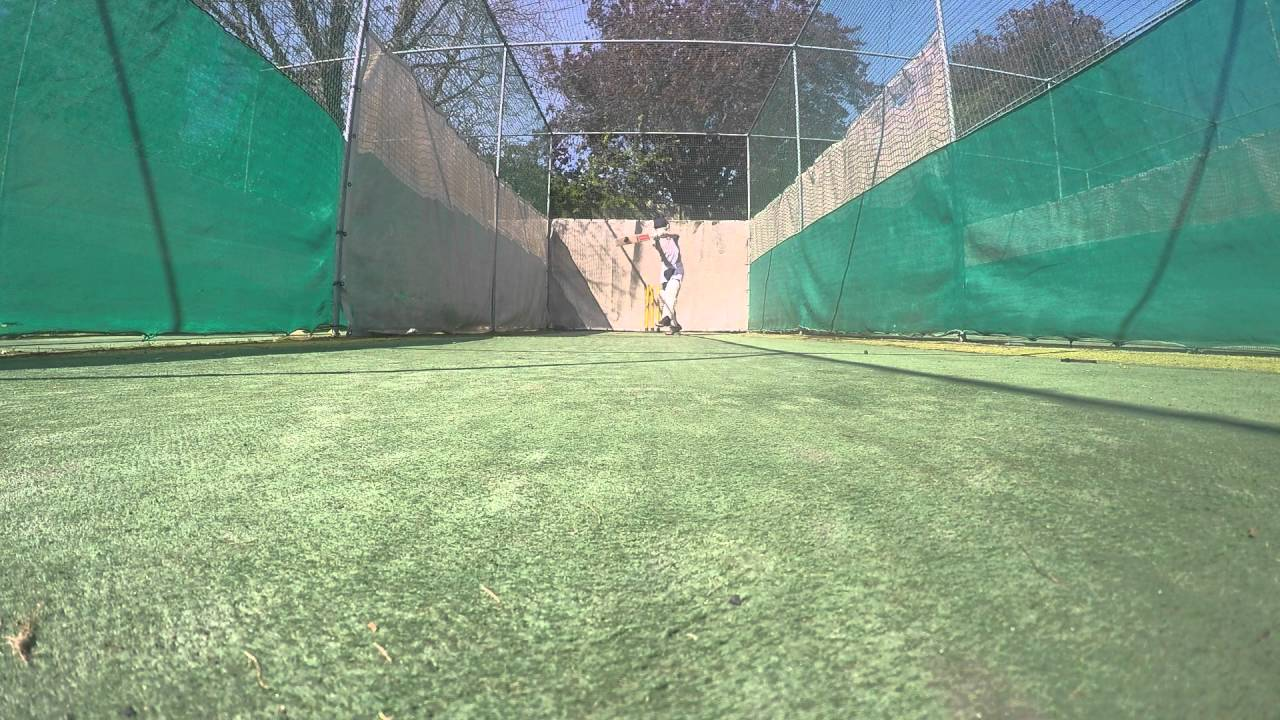 gopro cricket nets youtube