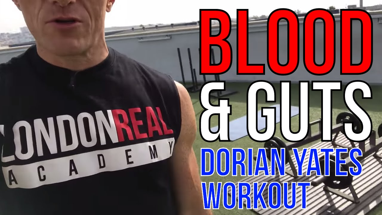 Download BLOOD AND GUTS TRAINING with DORIAN YATES