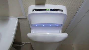 Мощная сушилка для рук Ksitex M-7777 JET. Аналог Dyson. Высушить руки быстро, за 6 секунд реально!
