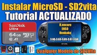 Instalar microSD en PSvita cualquier Modelo  Sd2vita Tutorial ACTUALIZADO