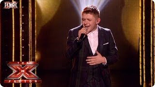 Nicholas McDonald sings Superman - Live  Final Week 10 - The X Factor 2013