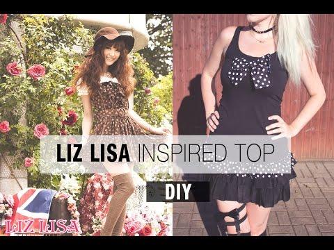 Liz Lisa inspired Top | DIY