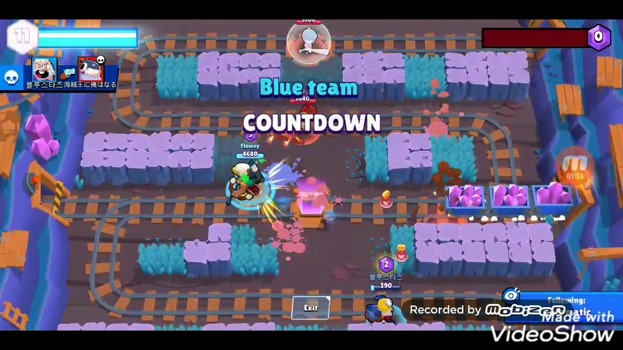 The nice game I pushed bo to 500 當我要把爆爬到500的時候... Brawl Stars荒野亂鬥
