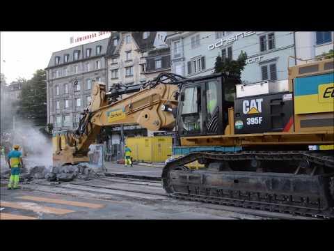 Caterpillar 395F Eberhard -  Zurich [08.07.17]