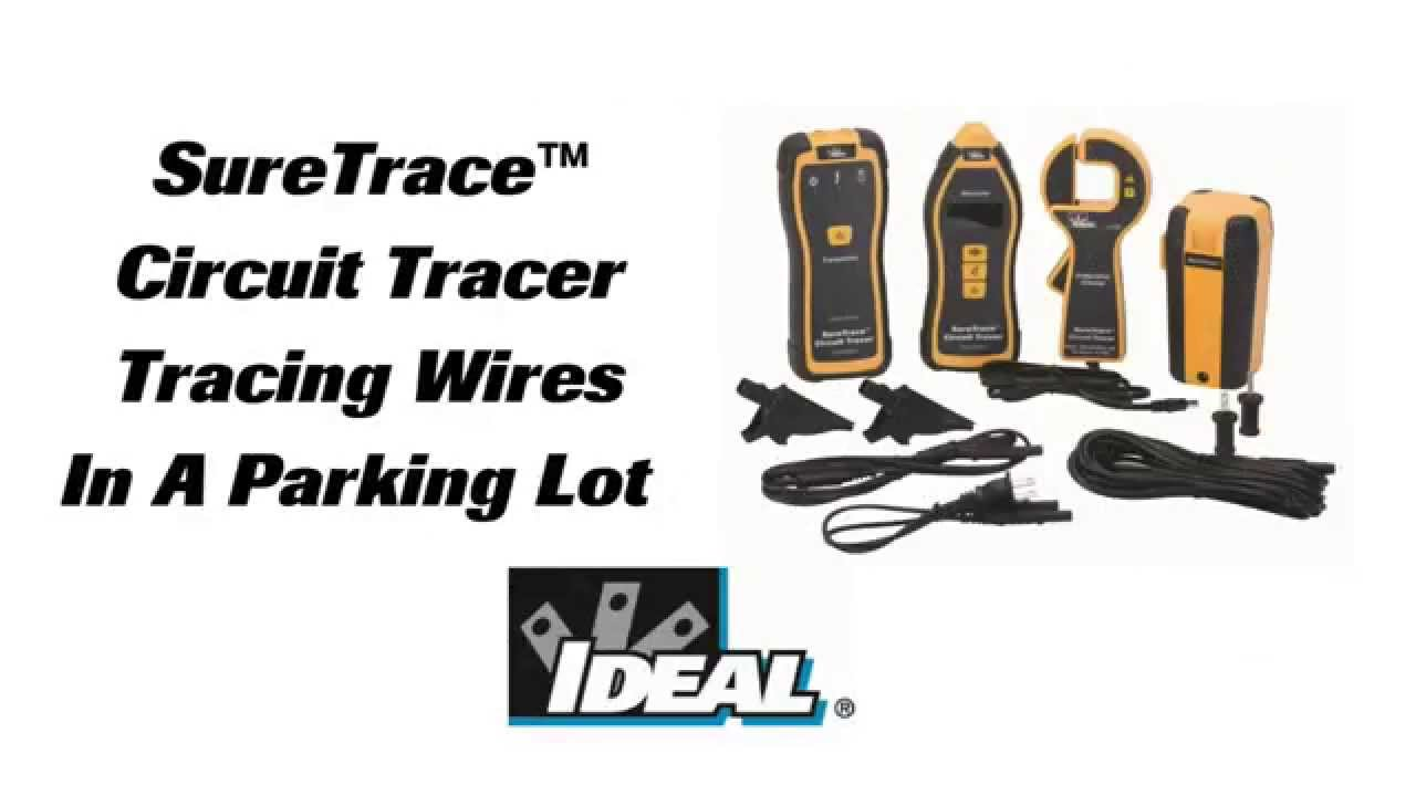 SureTrace Circuit Tracer Parking Lot Cable Tracing YouTube