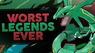 Top 5 WORST Legendary Pokemon - Woopsire