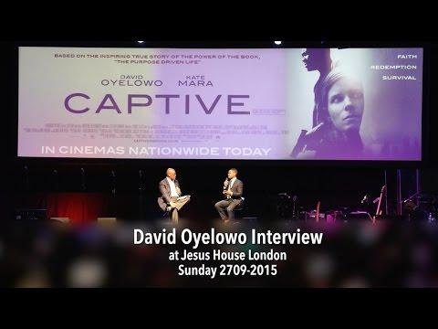 David Oyelowo Interview at Jesus House London // 2709-2015