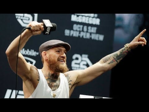 Full UFC 229 pre-fight press conference - Khabib v Conor McGregor