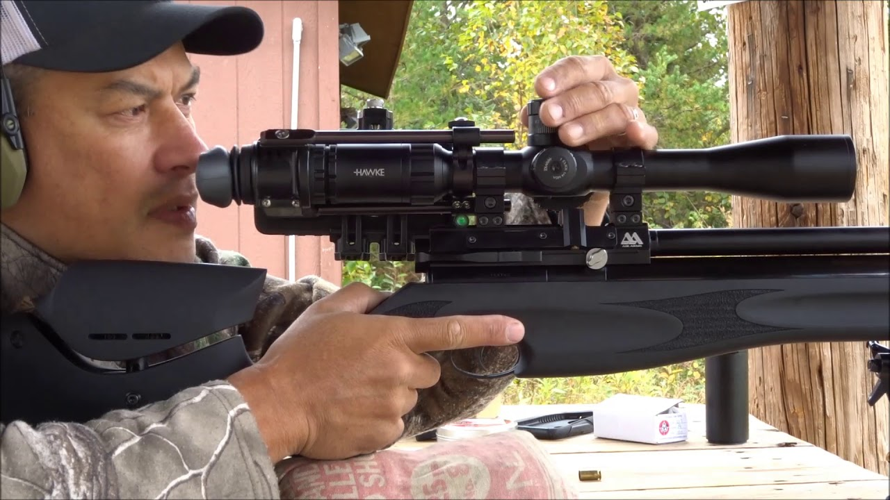 Accuracy testing of the Air Arms S510 XS Ultimate Sporter 22 (50 and 100  yds)