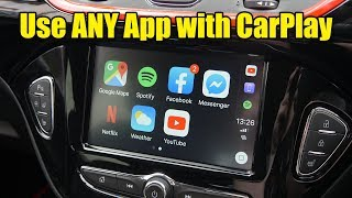 How to Use ANY App with Apple CarPlay (YouTube, Facebook, Movies etc)