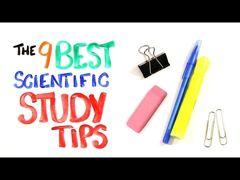 Thumbnail: The 9 BEST Scientific Study Tips