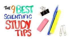 The 9 BEST Scientific Study Tips