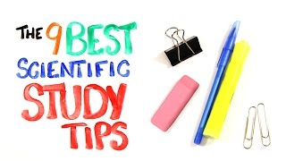 The 9 BEST Scientific Study Tips thumbnail