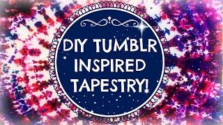 ✽ SUMMER DIY: TUMBLR INSPIRED Wall Tapestry ✽