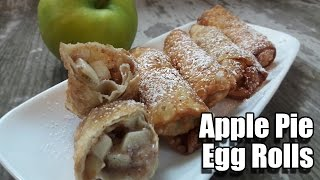 Apple Pie Egg Rolls Recipe  Episode 279