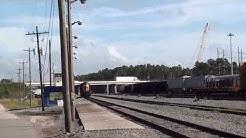 CSX JacksonVille yard Jacksonville Florida a quick peek !!