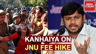 Kanhaiya Kumar Speaks On JNU Students Protest Over Fee Hike | India Today Exclusive