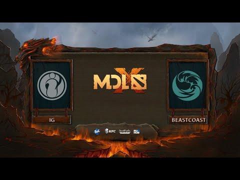 Beastcoast vs Invictus Gaming vod