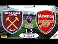 West Ham Vs Arsenal 1-3 | Premier League 2019/20 | Matchday 16 | 08/12/2019 | FIFA 20
