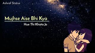 Gambar cover TERA PYAAR /KYUN ADHOORA RAHA/ Altaaf Sayyed Sad Love Status