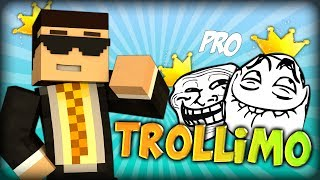 EXPLOSIVO TROLLIMO - THE BLUE PARKOUR KING (Minecraft Parkour Race)