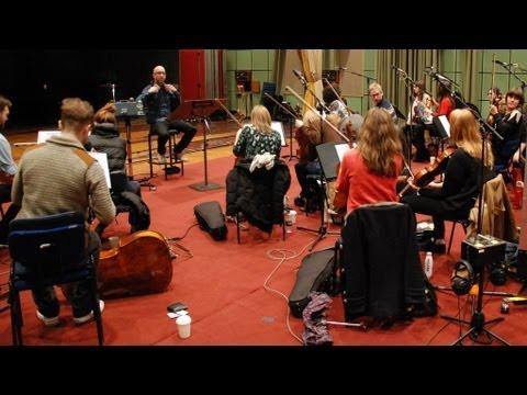 Benji B & Grant Windsor with the string ensemble!