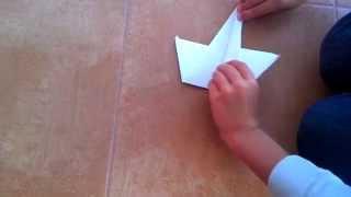 як зробити з паперу літак трюкач