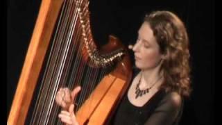 """""""Merrily kiss the Quaker's wife"""" on Celtic Harp (Keltische Harfe)"""
