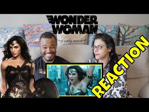 WONDER WOMAN [Official Final Trailer] (REACTION)
