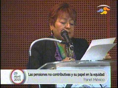 """""""México: Las pensiones no contributivas y su papel en la equidad"""", en la Semana de Seguridad Social"""