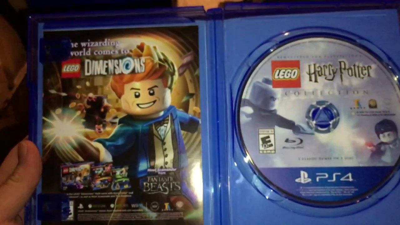 Lego Harry Potter Collection Unboxing (PS4 only) - YouTube