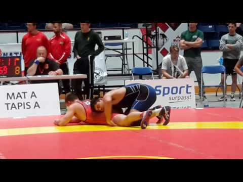 2016 Canada Cup: 86 kg Final Stefan Reichmuth vs. Morgan Smith (USA)