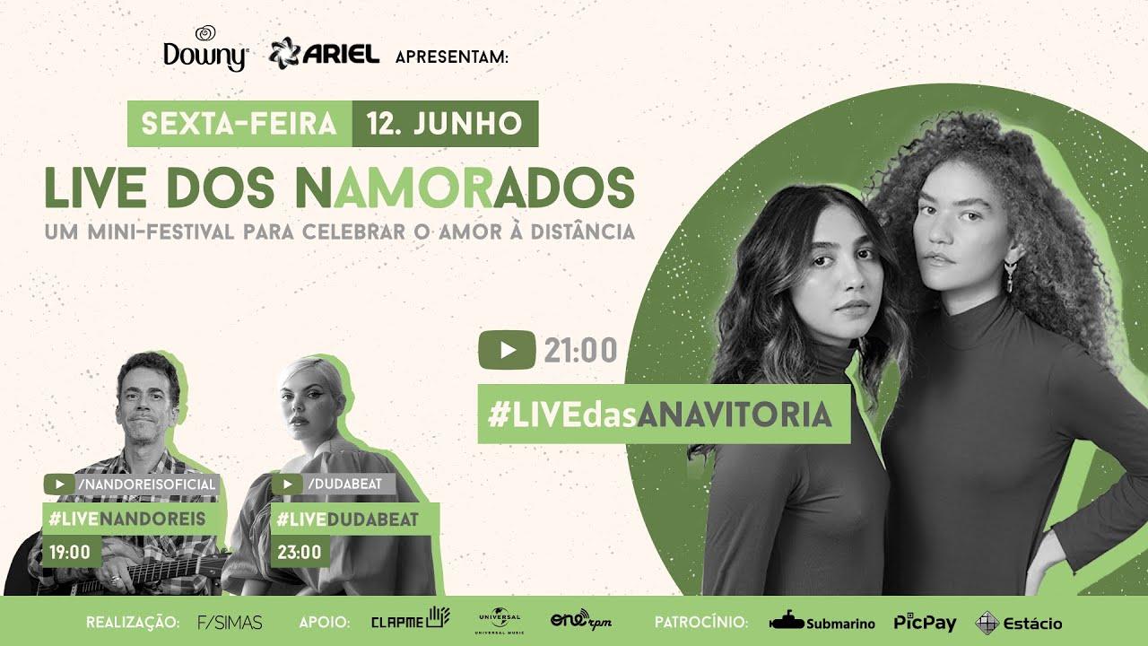 ANAVITÓRIA - Live dos Namorados | 12/06 às 21h00 | FiqueEmCasa e Cante#Comigo
