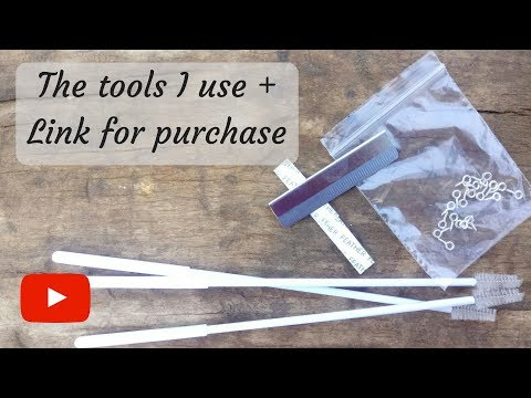 The tools I use+ Link for purchase