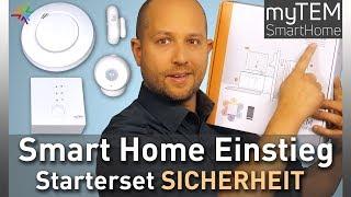 Smart Home Einstieg - Das Smart Home Starterset Sicherheit von myTEM