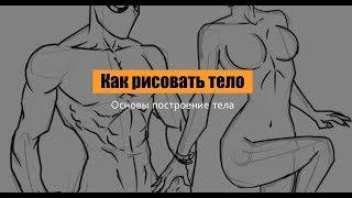 Как рисовать мужское и женское тело