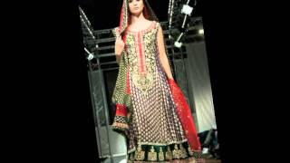 london pakistan fashion week 2011 bridal and heavy party dresses