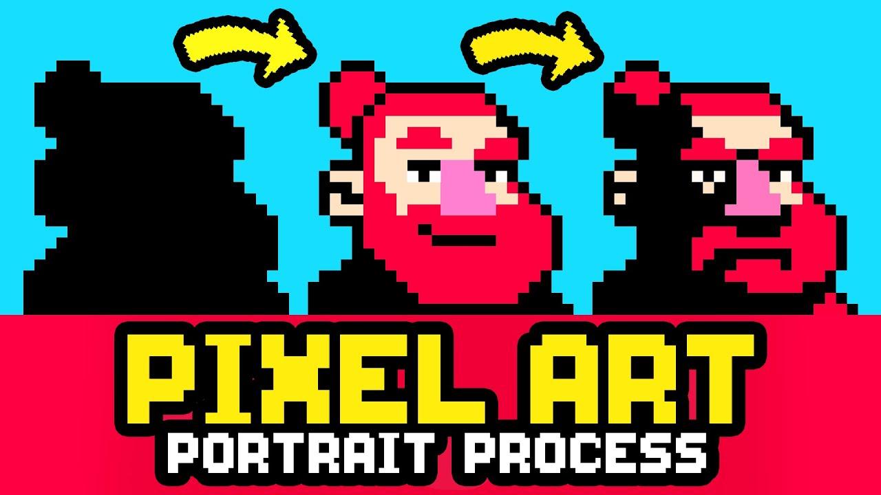 Pixel Art Portrait Tutorial