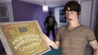 NEVER give ree kid a ouija board..