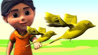 Chidiya Rani Badi Sayani Hindi   चिड़िया रानी बड़ी सायानी   Kids Tv India   Hindi Nursery Rhymes