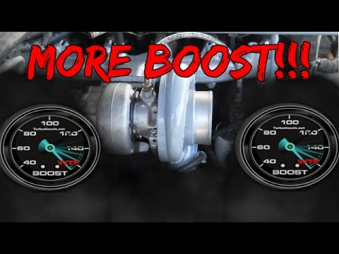 How to UP the BOOST on your CUMMINS!