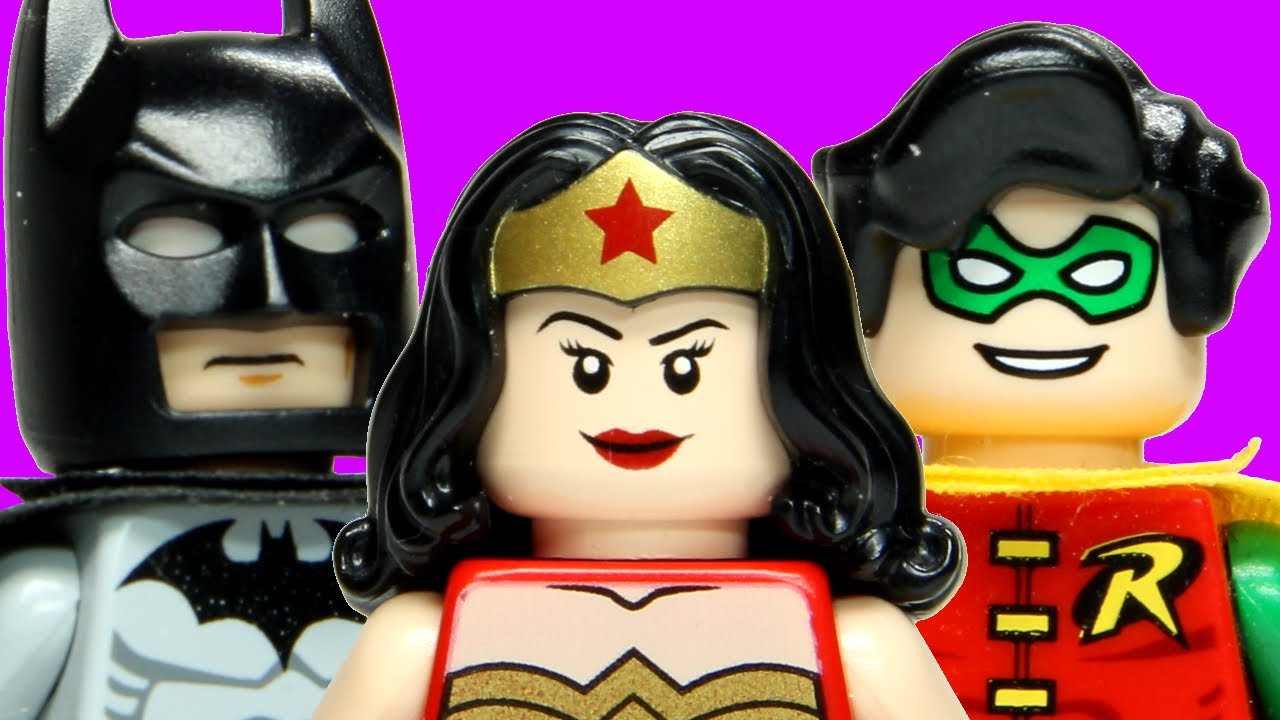 LEGO Batman and Robin Valentines Day  YouTube