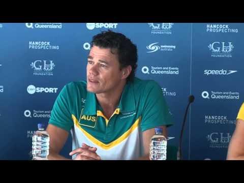 Australia pre-meet press conference, 2014 Pan Pacific championships