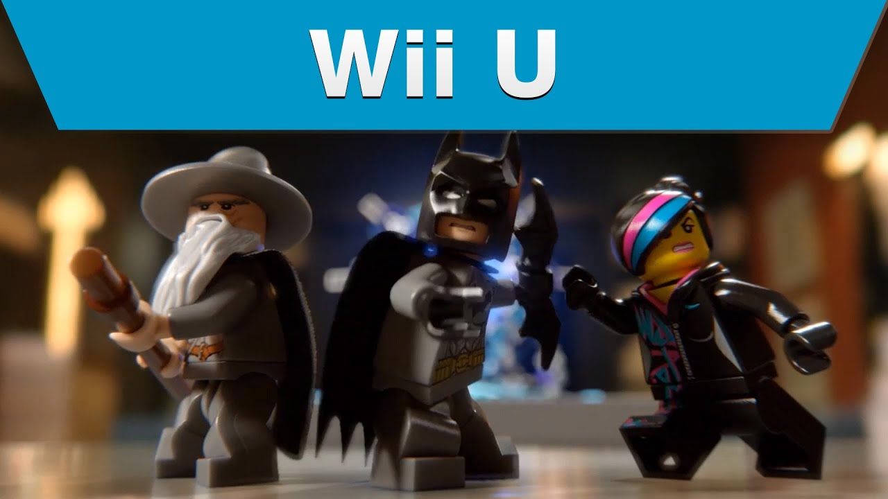 wii u lego dimensions announce video sneak peek youtube. Black Bedroom Furniture Sets. Home Design Ideas