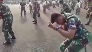 This songs from king monada Indonesians  army dance music from king monada chiwana