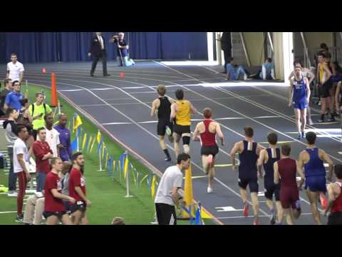 Miami University's Chris Torpy runs the 800 meter race 2-18-17 at Notre Dame-Alex Wilson invite