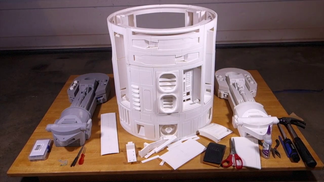 3D-Printed Life Size R2-D2 Project Part 3: Long-Overdue Update!